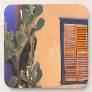Southwestern Cactus (Opuntia dejecta) and Drink Coasters