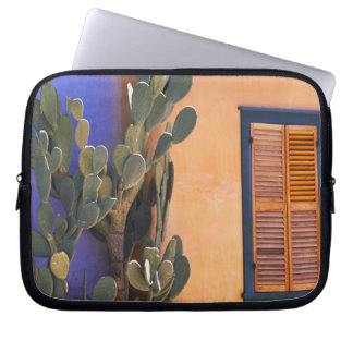 Southwestern Cactus (Opuntia dejecta) and Laptop Computer Sleeve