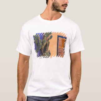 Southwestern Cactus (Opuntia dejecta) and T-Shirt