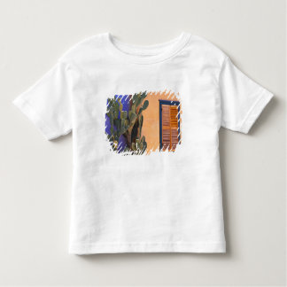 Southwestern Cactus (Opuntia dejecta) and Tee Shirt