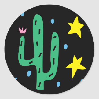 Southwestern Cactus Sticker