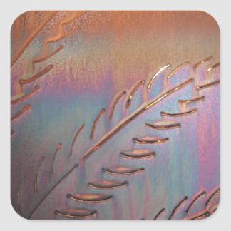 SOUTHWESTERN COPPER FEATHER STICKER