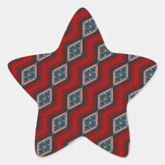 Southwestern Design Star Sticker