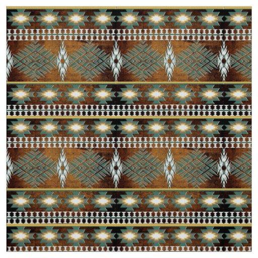 southwestern ethnic navajo pattern fabric
