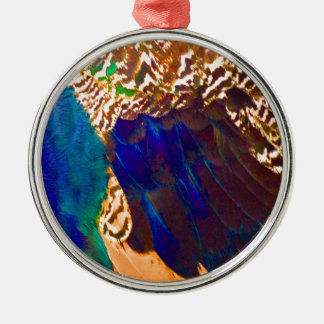 Southwestern Feathers Christmas Ornament