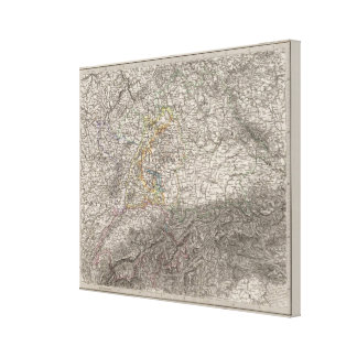 Southwestern Germany and Switzerland Canvas Print