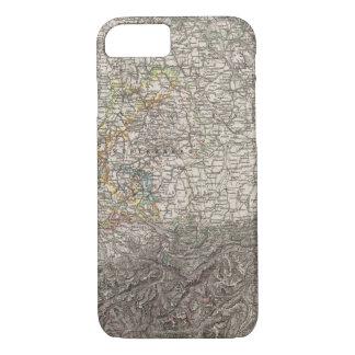 Southwestern Germany and Switzerland iPhone 8/7 Case
