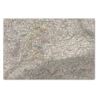 Southwestern Germany and Switzerland Tissue Paper