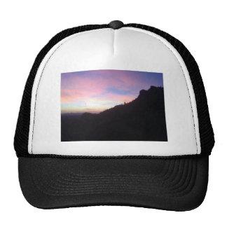 Southwestern Mountain sunset Cap