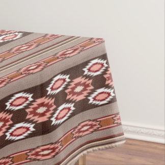 Southwestern navajo ethnic tribal pattern. tablecloth