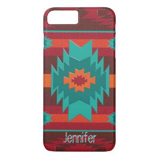 Southwestern navajo geometric pattern. iPhone 8 plus/7 plus case