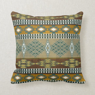 Southwestern navajo tribal pattern cushion
