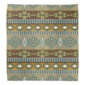Southwestern navajo tribal pattern kerchief