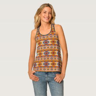 Southwestern navajo tribal pattern tank top
