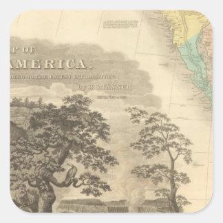 Southwestern North America Square Sticker