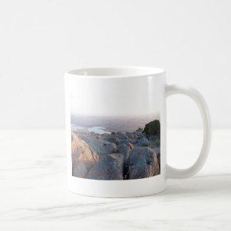 Southwestern Oklahoma Mountain Scenery of Mt Scott Basic White Mug
