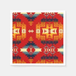 Southwestern pattern fun paper napkins disposable serviette