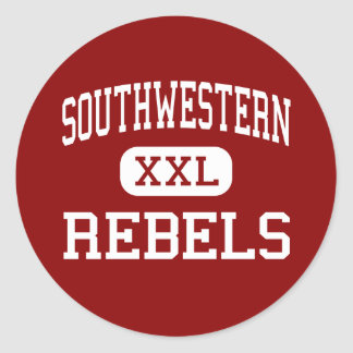 Southwestern - Rebels - High - Hanover Indiana Stickers