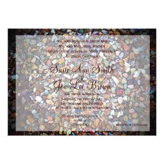 Southwestern Rock Camouflage Wedding Invitations