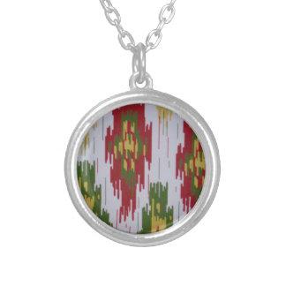 southwestern round pendant necklace