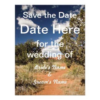 Southwestern Save the Date Invitations