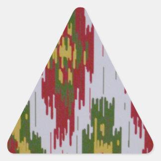 southwestern triangle sticker