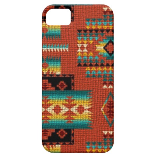 Southwestern style iPhone 5/5S barely there case