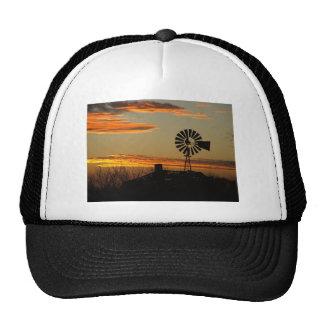 southwestern sunset mesh hat