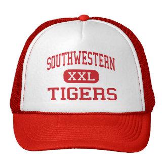 Southwestern - Tigers - Middle - DeLand Florida Trucker Hat