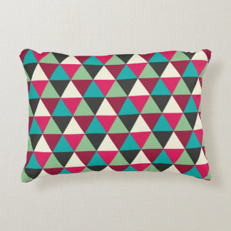 Southwestern Triangles Pattern Decorative Cushion