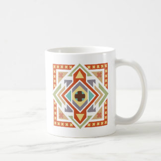 Southwestern Tribal Geometric Pattern Coffee Mug