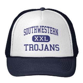 Southwestern Trojans Middle Jamestown Trucker Hat