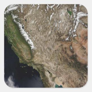 Southwestern United States Square Sticker