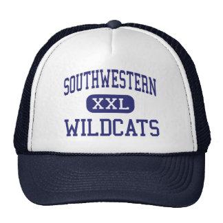 Southwestern Wildcats Elementary Hazel Green Hats