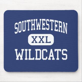 Southwestern Wildcats Elementary Hazel Green Mouse Pads