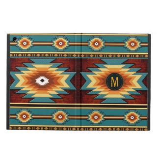 Southwestrn navaio geometric pattern. iPad air cover