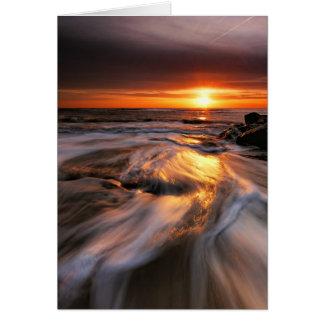 Southwold Beach Sunrise 4. Card