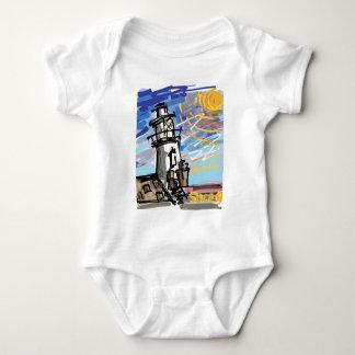 Southwold Lighthouse Baby Bodysuit
