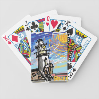 Southwold Lighthouse Bicycle Playing Cards