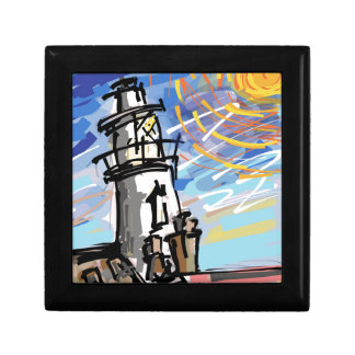 Southwold Lighthouse Small Square Gift Box