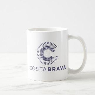 Souveniers Costa Brava Spain Basic White Mug