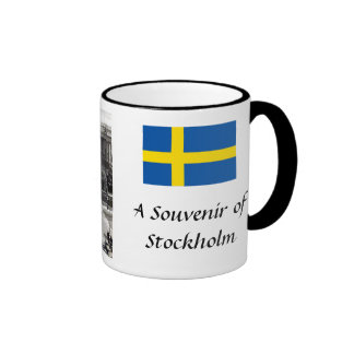 Souvenir Coffee Mug - Stockholm, Sweden
