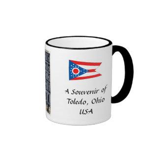 Souvenir Coffee Mug, Toledo, Ohio, USA Coffee Mugs