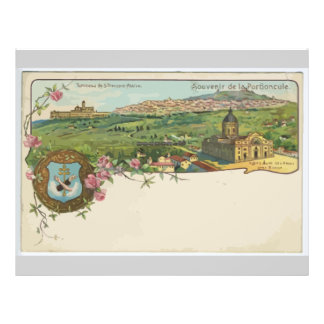 Souvenir De La Portioncule, Vintage Flyer