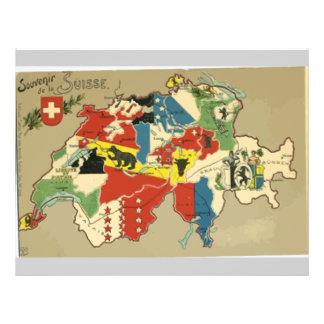 Souvenir De La Suisse, Vintage Personalized Flyer