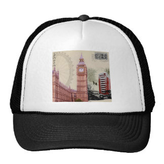 souvenir mesh hat