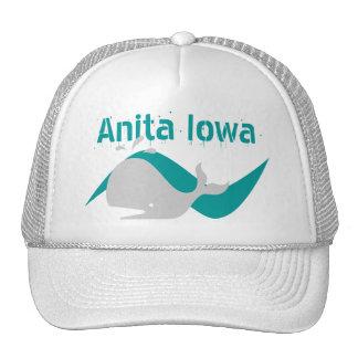 Souvenir Hat Anita Iowa A Whale Of A Town! Motto