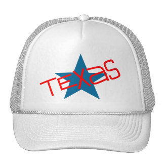 Souvenir Hat Texas Lone Star State Red White Blue