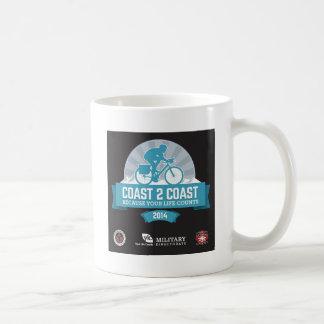 Souvenir Items for Marty's Coast2Coast Ride 2014 Basic White Mug