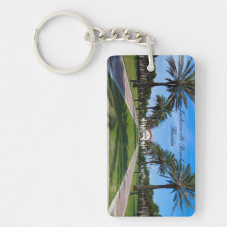 Souvenir keychain of Jacksonville Beach, Florida